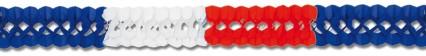 Red/White/Blue Garland 4m
