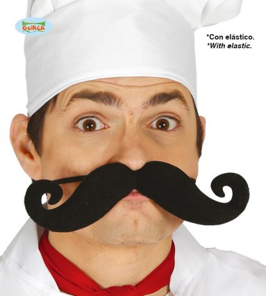 Giant Chef Moustache