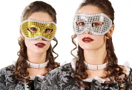 Gold & Silver Eye Masks