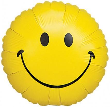 Foil Balloon - Smiley Face