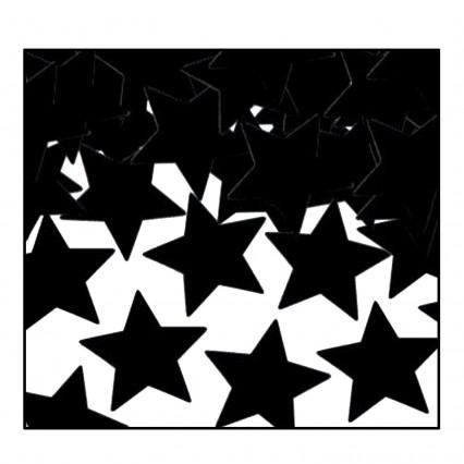 Confetti Stars -  Black