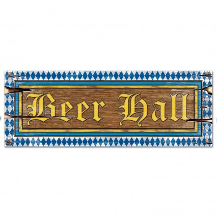 Beer Hall Sign