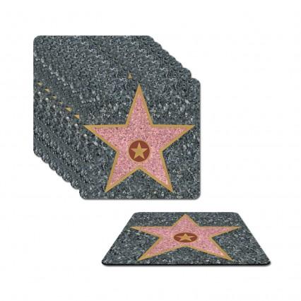 Hollywood Star Coasters