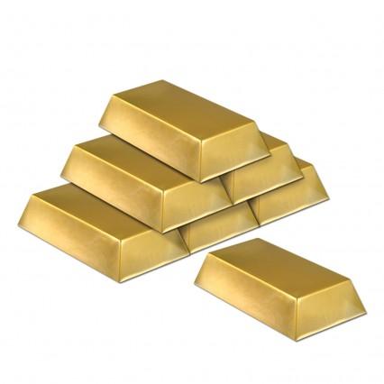 Plastic Gold Bars