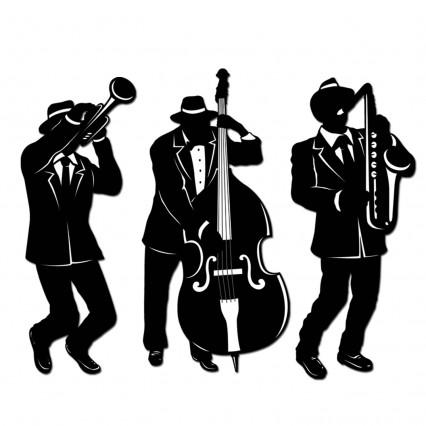 Jazz Trio Silhouette