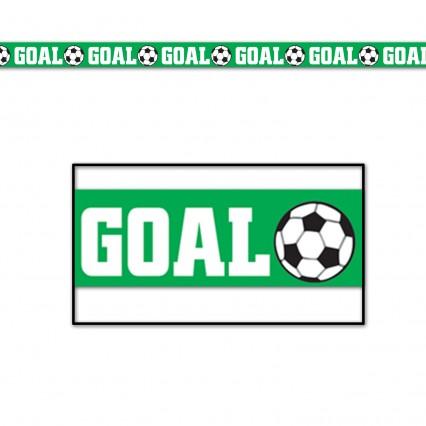 Goal Soccer Party Tape