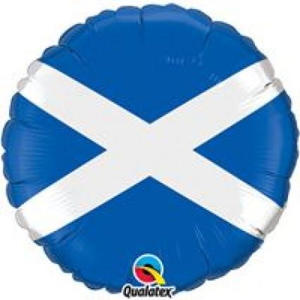 """18"""" Foil Balloon - St Andrews Cross"""