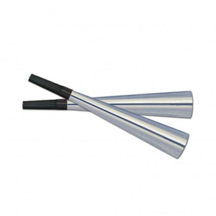 Sparkling Silver Trumpets
