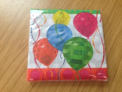 Balloon Brights Luncheon Napkins