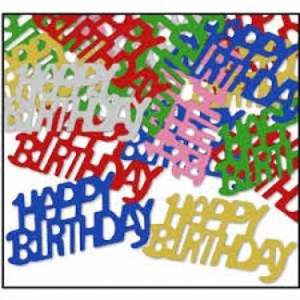 Happy Birthday Table Confetti