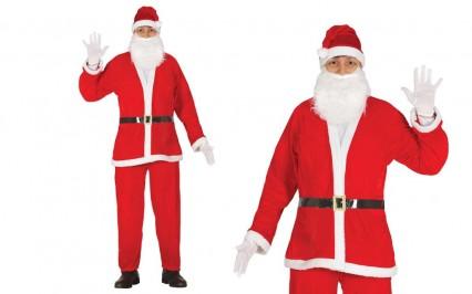 Santa Suit - Budget (5 pieces)