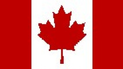 Large Polyester Flag - Canada