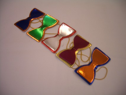 Bow Ties - Coloured Card