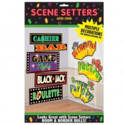 Scene Setter Add On - Casino Sign