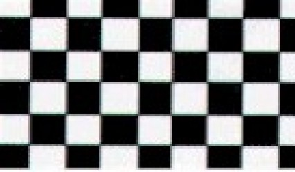 Large Polyester Flag - Chequered