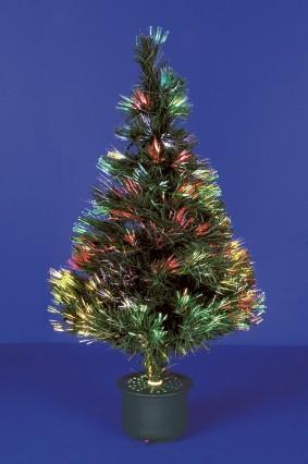 "Fibre Optic Sparkle Tree 32""/80cm"