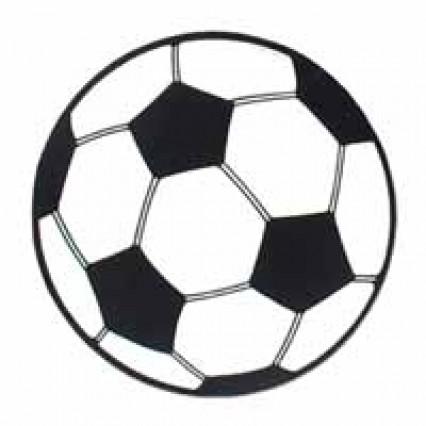 "Soccer Ball Cut Out 13"""
