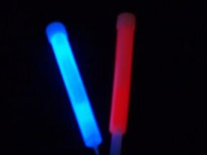 Glow Sticks on Lace