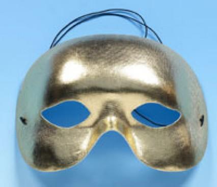 Half Face Mask - Gold