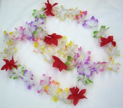 Hawaiian Leis - Poly Flower