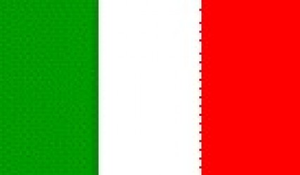 Large Polyester Flag - Italy