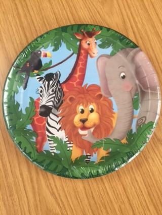 Jungle Pals Plates