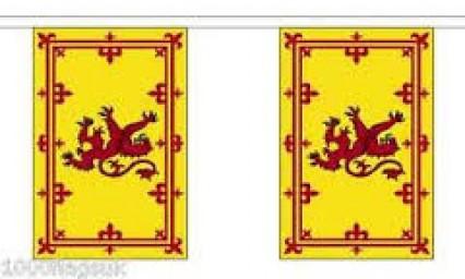 Flag Bunting - 4m - Lion Rampant