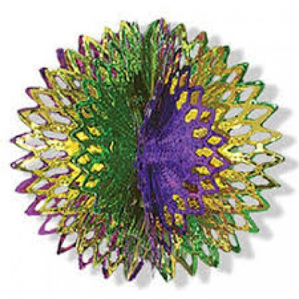 "Shimmerball 16"" (Gold/Green/Purple)"