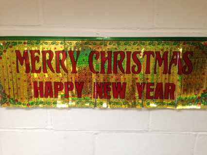 Merry Xmas/Happy New Year Banner