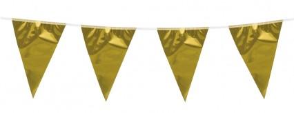 Metallic Bunting Gold 10m