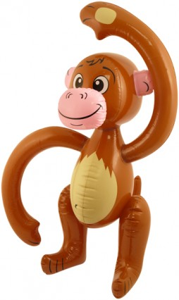 Inflatable Jungle Monkey