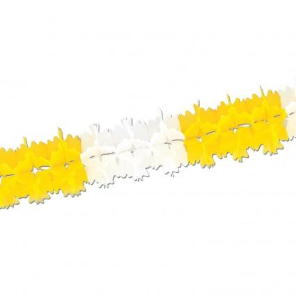 Pageant Garland Yellow/White