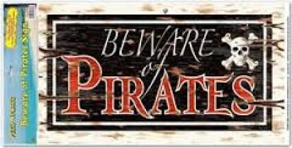 Peel 'n' Place - Beware of Priates