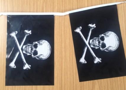 Flag Bunting - 4 metres - Pirate