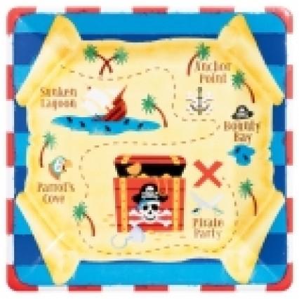 Pirate Treasure Plates