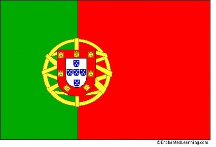 Large Polyester Flag - Portugal
