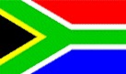 Large Polyester Flag - South Africa