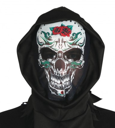 Skeleton Hood - Day of the Dead