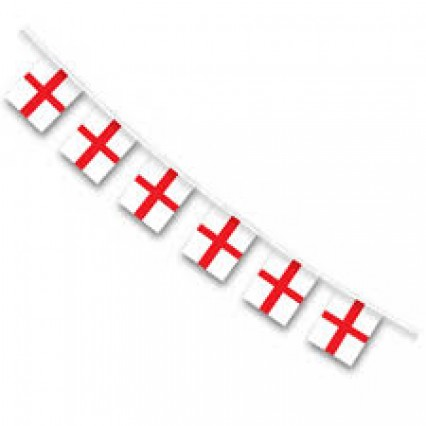 Flag Bunting - St George 10m
