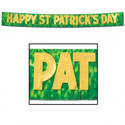 Happy St Patricks Day Banner