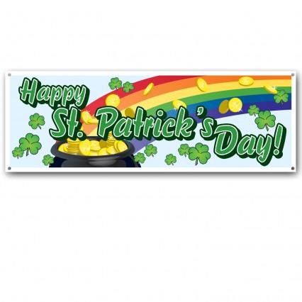 St Patricks Day Sign Banner