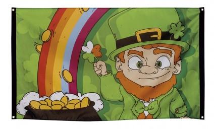 St Patrick's Day Flag Banner