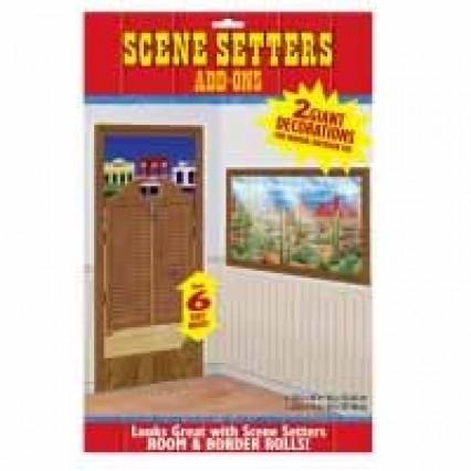 Scene Setter Add On - Swing Door & Window