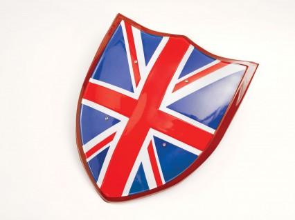 Union Jack Plastic Shield