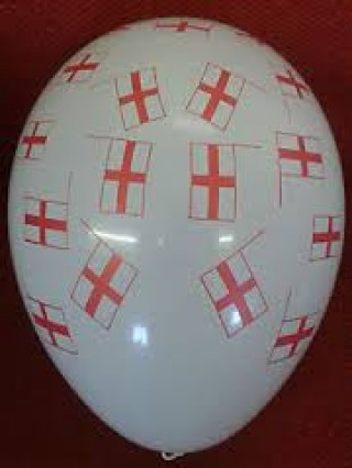 """All over Print 36"""" St George Balloons"""