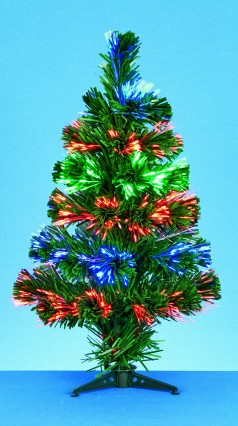 "18""/45cm B/Op LED Fibre Optic Tree"