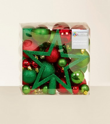 Mixed Finish Bauble Pack