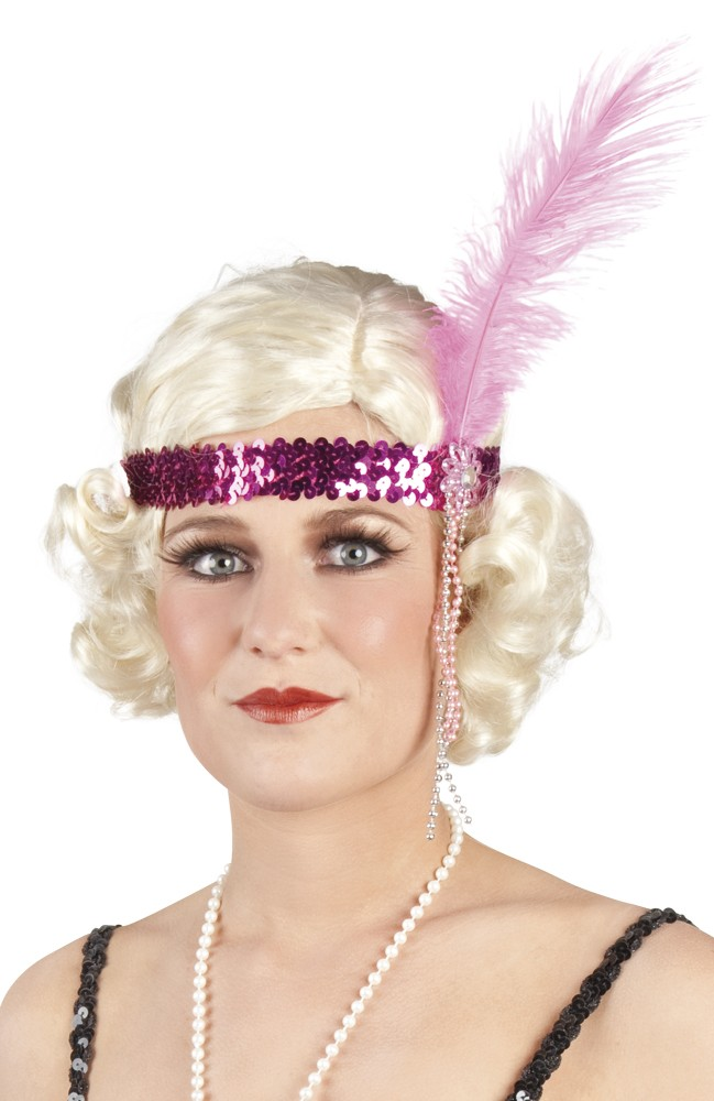 Flapper Headband Gangster Themes D Amp F Party