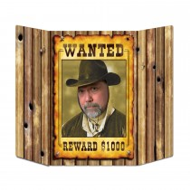 Wanted Photo Prop