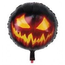 Creepy Pumpkin Foil Balloon